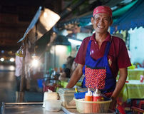 Street food stall Stock Image