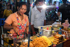 Street food stall. Stock Photography