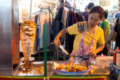 Street food stall Stock Photography