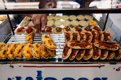 Street food stall in Bangkok, Thailand Royalty Free Stock Images