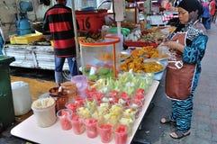 Street Food Stall in Kuala Lumpur Royalty Free Stock Photos