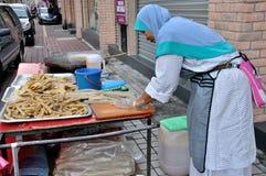 Street Food Stall in Kuala Lumpur Royalty Free Stock Photo