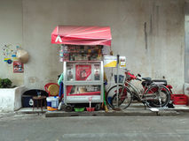 Street Food Stall in Saigon, Ho Chi Minh, Vietnam Stock Photography