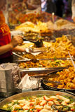 Street food: Thai kitchen spicy buffet Stock Photo