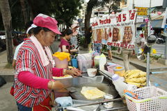 Street food in Thailand Royalty Free Stock Photography