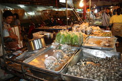 Street food in Thailand Royalty Free Stock Photo