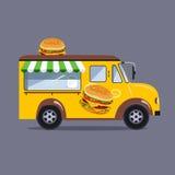 Street food van Stock Photo