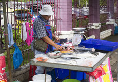 Street food vendor, Bangkok Stock Images