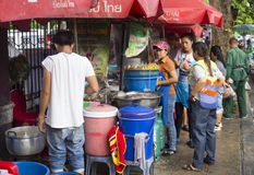 Street food vendor, Bangkok Stock Photography