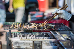 Street Food Vendor Stock Image