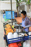 Street food vendor in thailand Stock Photos