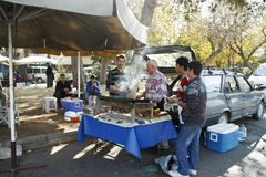 Street food vendor in Turkey Royalty Free Stock Photography