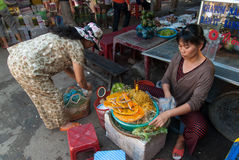 Street food in Vietnam Stock Photos