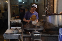 Street food in Xian, China Royalty Free Stock Photography