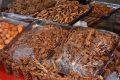 Street Foods. In the Philippines Royalty Free Stock Photo