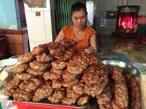 Street foods in Saigon, Vietnam Stock Photo