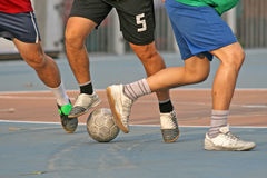 Street Football Stock Photography