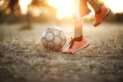 Street Football Royalty Free Stock Image