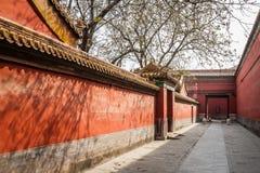 China, Beijing, Forbidden City. Street in the Forbidden City, Beijing, China royalty free stock image