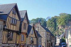 Street in Fougeres, France Stock Photography