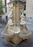 Street Fountain, Barcelona Royalty Free Stock Photo