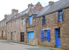 Street in the French brittany Stock Photography