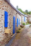 Street in the French brittany Stock Image