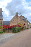 Street in the French brittany Royalty Free Stock Photos
