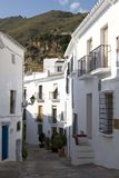 Street in Frigiliana, Andalusia Royalty Free Stock Photo