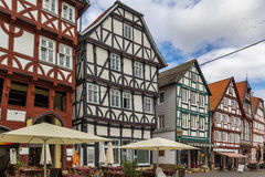 Street in  Fritzlar, Germany Royalty Free Stock Photography