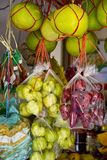 Street Fruit Market Royalty Free Stock Images