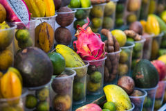 Street fruit shop Royalty Free Stock Image