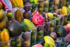 Street fruit shop Royalty Free Stock Image