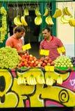 Street fruits kiosk, Monastiraki, Athens, Greece Royalty Free Stock Images