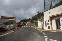Street in Funchal Stock Image