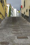 Street in Funchal Stock Photography