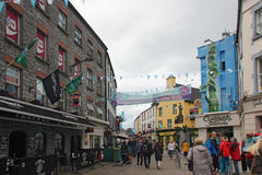 Street in Galway Stock Photography