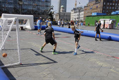 STREET GAMES Stock Images