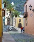 Street in Garachico Royalty Free Stock Photo