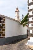 Street of Garachico Town on Tenerife Island Royalty Free Stock Photography