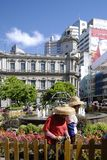 The street garden at macau. This is a garden on the streets of macao Stock Images
