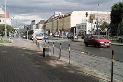 Street in Gdansk Stock Images