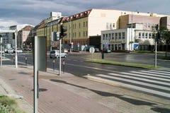 Street in Gdansk Stock Photo