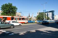 Street in Gdansk Stock Image