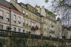 Street in Geneva, Switzerland Royalty Free Stock Images