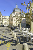 Street in Geneva, Switzerland Royalty Free Stock Photography