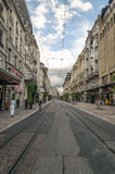 Street in Geneve Royalty Free Stock Photo