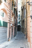 Street in Genova Royalty Free Stock Images