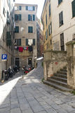 Street in Genova Stock Image