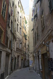 Street in Genova Royalty Free Stock Photos